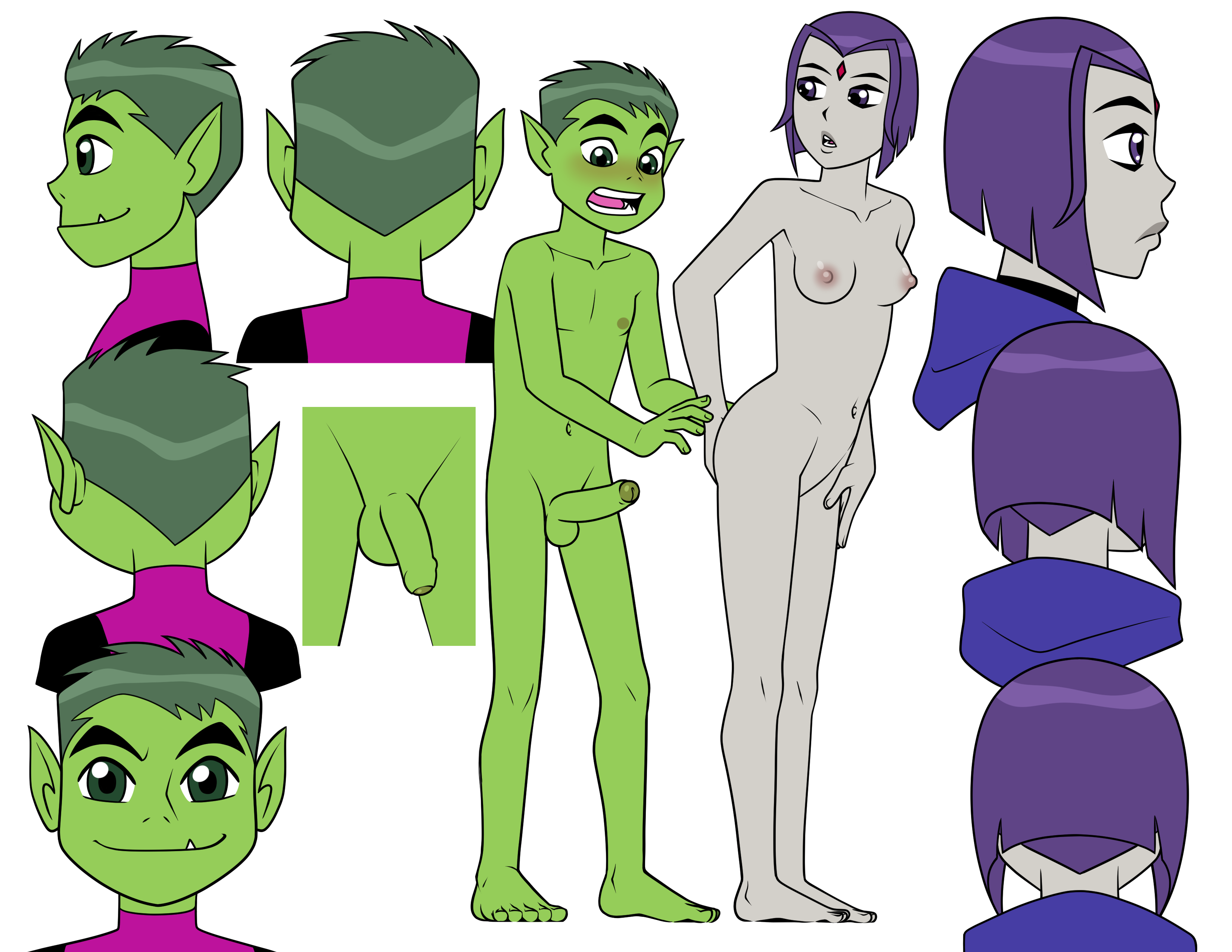 Getting Off Reference Beast Boy Raven