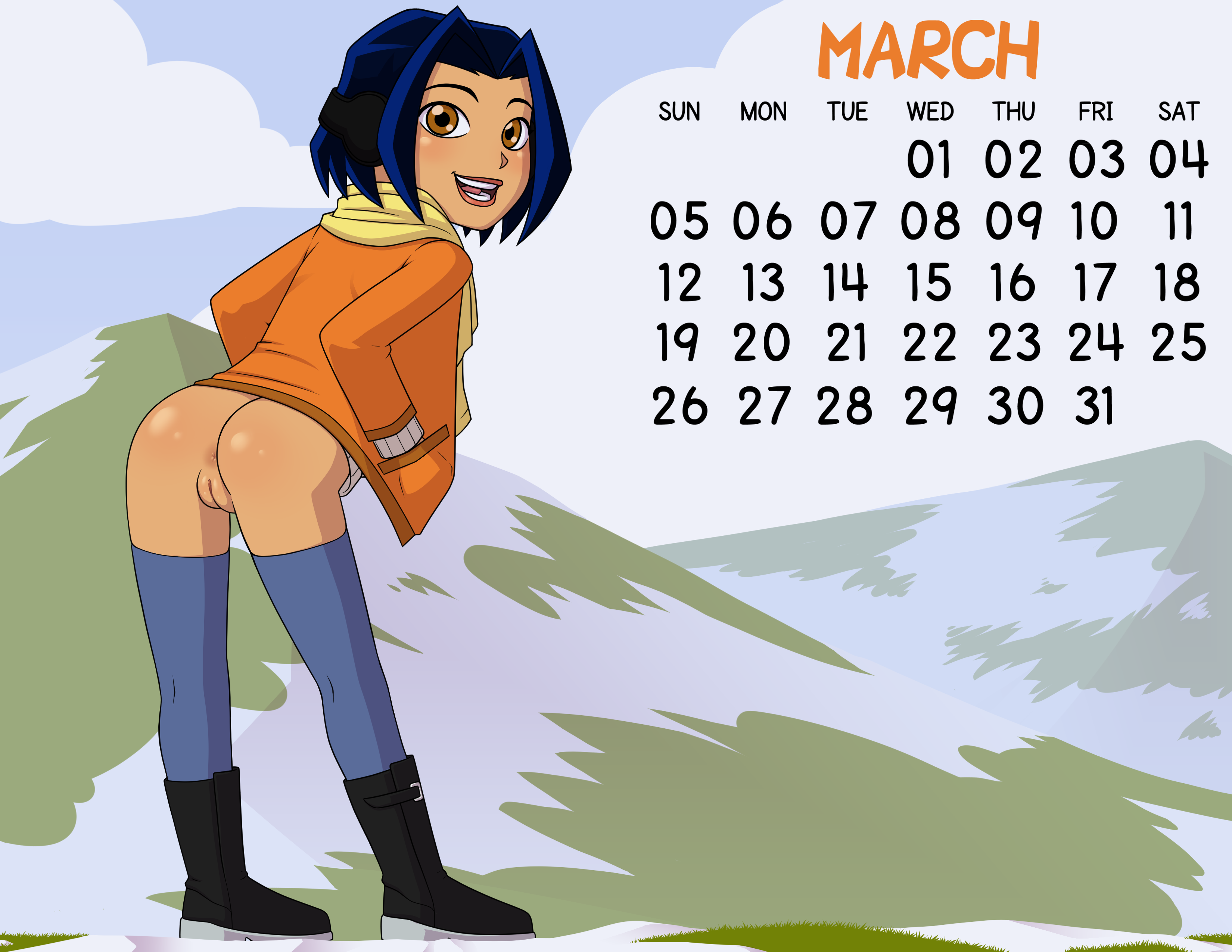 Loli Club Calendar 03 March Jade